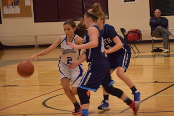 Falcons Girls Basketball Recap