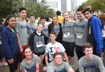 Students Participate at Steps for Students 5K