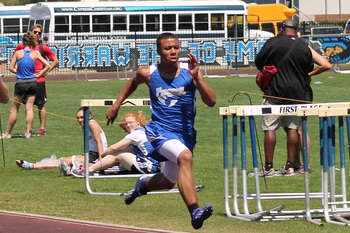 Falcons Track & Field finishes fifth at Cypress Christian Meet