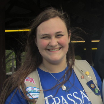 Diana Davis, Class of 2017, flies high with Down Syndrome kite gathering