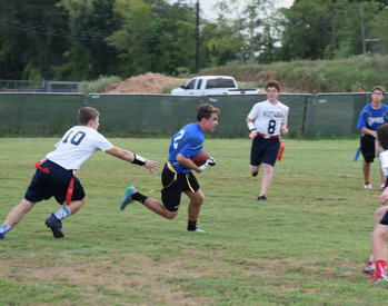 Flag Football team defeats Calvary Baptist in season opener