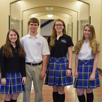 Four students recognized at UST/Archdiocesan Essay Contest