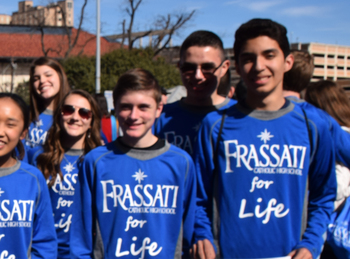 Frassati Catholic students to attend Rally for Life in Austin