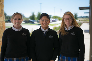 Three students chosen for All-Region Choirs