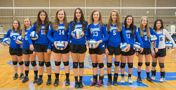 Volleyball secures first TAPPS District Championship