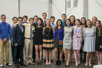 Frassati Catholic inducts 19 juniors into National Honor Society