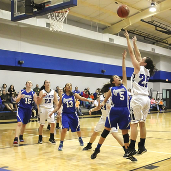 Eight basketball players named to All-District Team