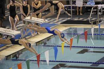 Swimmers end season on high note at State Championship Meet