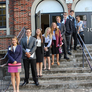 Government and Debate Club Participates in YMCA Regional Conference