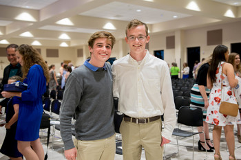 Jack Edwards named 2017 valedictorian; Josh Davidson named salutatorian