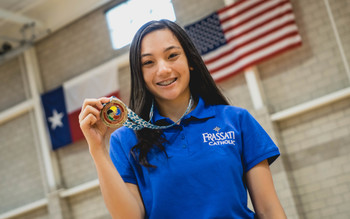 Alexandra Wainwright '20 crowned U.S. Junior Karate Champion