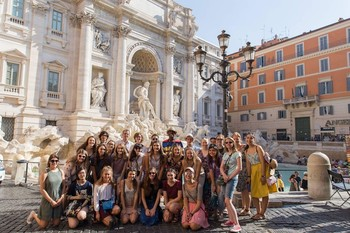 Three Students Travel to Rome for Shakespeare in Italy Program