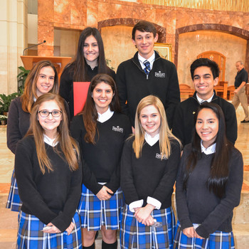 Students Recognized at University of St. Thomas Essay Contest
