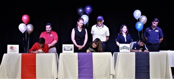 Three Frassati Catholic Athletes Commit to Collegiate Athletics