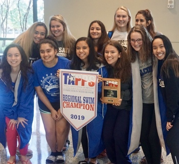 Swim Team Succeeds at East Regionals