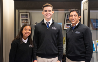 Three Students Named National Hispanic Scholars