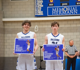 Two Frassati Catholic Basketball Players Reach 1000 Career Points