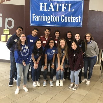 World Languages Students Place at Farrington Contest