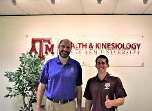 Frassati Catholic Athletic Director Speaks to Texas A&M Sports Management Majors