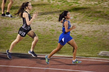 Izabella Vallejo Competes at Track and Field State Championships