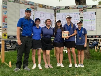 Girls Golf Takes Third at State Championships