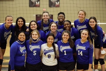 Volleyball Takes Back-to-Back Area Championships