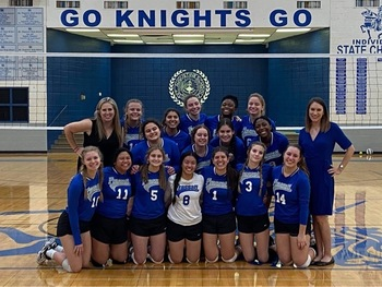 Volleyball Wins Bi-District Playoff Prepares for Area Playoffs