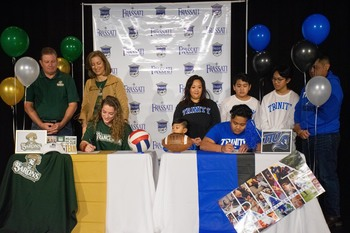 Student Athletes Sign to Play at the Collegiate Level