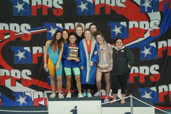 Swim Team Takes Second at State Championship