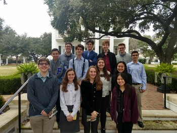 Government and Debate Club Shines at Youth In Government State Conference