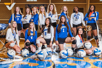 VYPE Media Features Falcons Volleyball in a Season Lookback