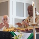Cardinal Gregory Visits Our Lady of the Visitation Parish