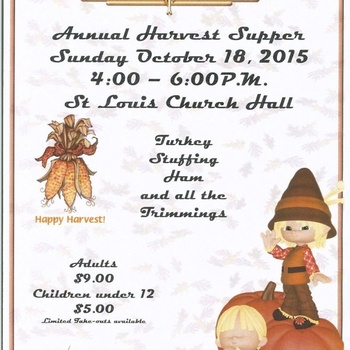 ST. LOUIS HARVEST SUPPER