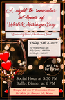 WORLD MARRIAGE DAY DINNER