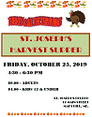 HARVEST SUPPER ~ ST. JOSEPH'S, MARS HILL