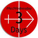#REDWEDNESDAY - LIGHTING UP ST MIRIN'S CATHEDRAL - 3 DAYS TO GO...