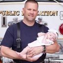 Firefighter adopts baby he delivered on emergency call