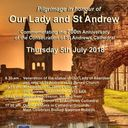 Pilgrimage in honour of Our Lady and St Andrew