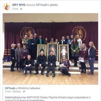 DPY World Youth Day Pilgrims Meet for Intro & Prayer
