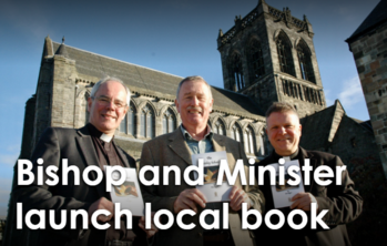 Bishop and Minister launch local book