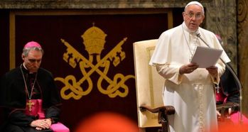 PRESENTATION OF THE CHRISTMAS GREETINGS TO THE ROMAN CURIA ADDRESS OF HIS HOLINESS POPE FRANCIS
