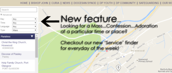New - Parish Service Finder