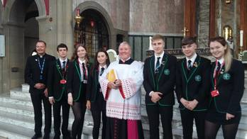 1100 Primary 7 pupils - St. Mirin's Cathedral, to celebrate their Vocations Mass