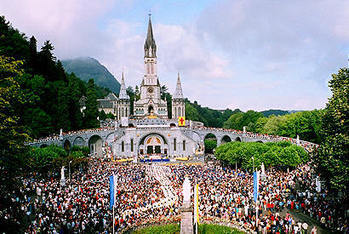 The Diocesan pilgrimage to Lourdes