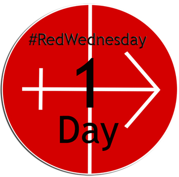 #REDWEDNESDAY - LIGHTING UP ST MIRIN'S CATHEDRAL - 1 DAY TO GO...