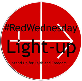 #REDWEDNESDAY - LIGHTING UP ST MIRIN'S CATHEDRAL - LIGHT-UP!
