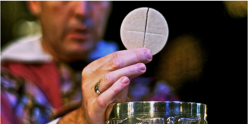 How long is Jesus present in the Eucharist after we've received Communion?