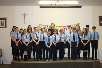 St Thomas' P7 Leavers Mass & Presentation