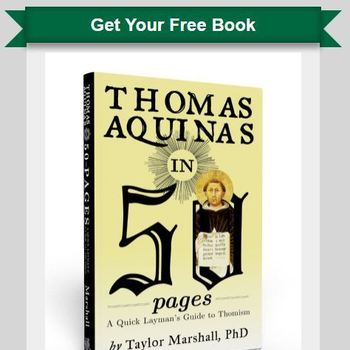 Your free book St Thomas Aquinas in 50 Pages