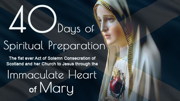 40 Days of Spiritual Preparation to Jesus through the Immaculate Heart of Mary